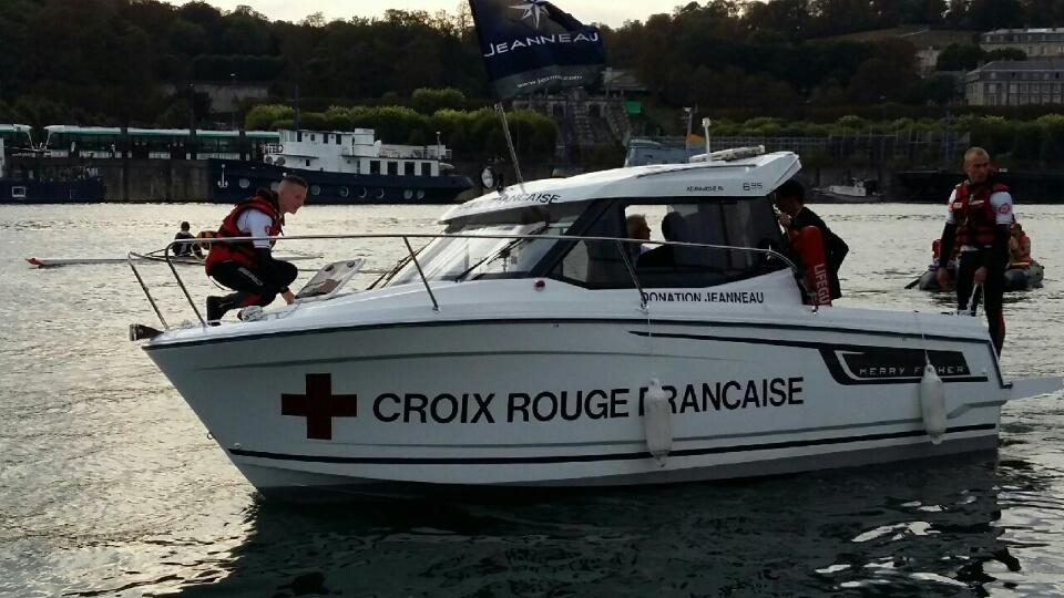 INAUGURATION MERRY FISHER CROIX ROUGE